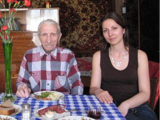 Крещение в Москве в возрасте 97 лет