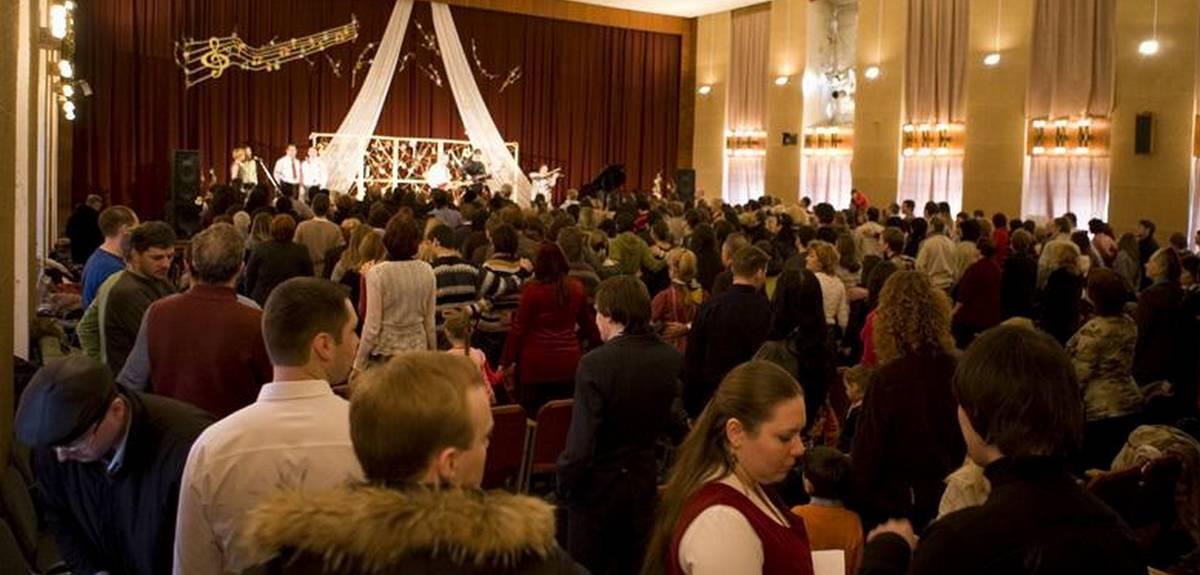 """Концерт христианской музыки """"Призвание 1.0"""" в Санкт-Петербурге"""
