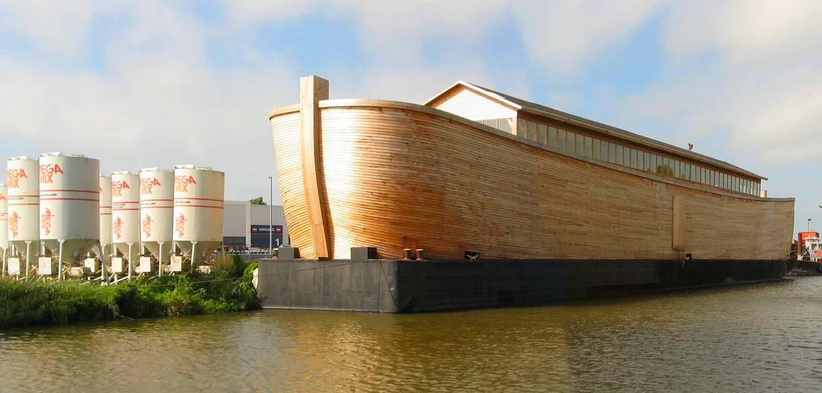 Ноев ковчег в натуральную величину построили в Голландии