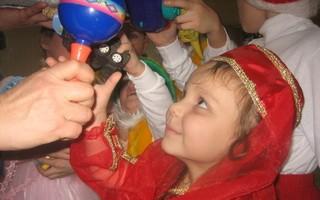 Добровольцы поддержали детей из детского дома