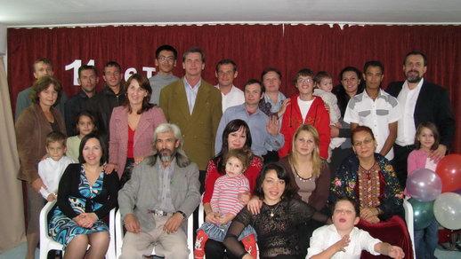 День рождения ашхабадской церкви Христа