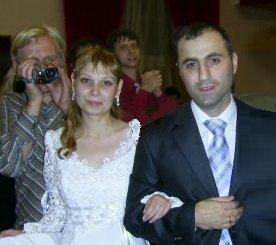 Международная христианская свадьба состоялась в киевской церкви