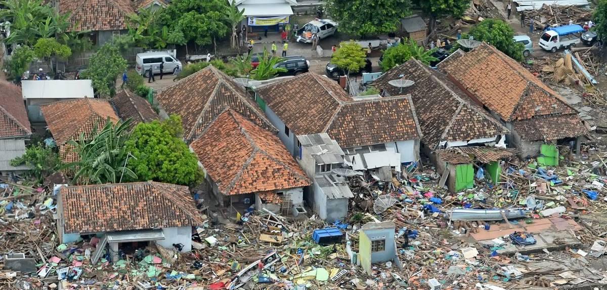 Землетрясение в Индонезии и помощь волонтеров Hope Worldwide