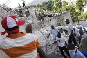 Землетрясение в Гаити: Дневник событий (обновлено 19.02)