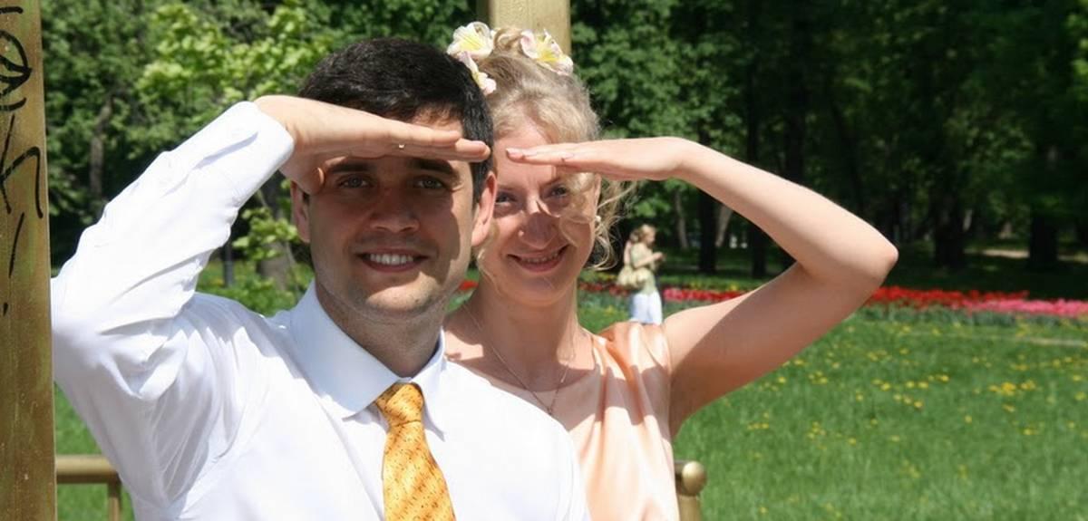 Христианские свадьбы в Москве: венчание Павла и Ольги