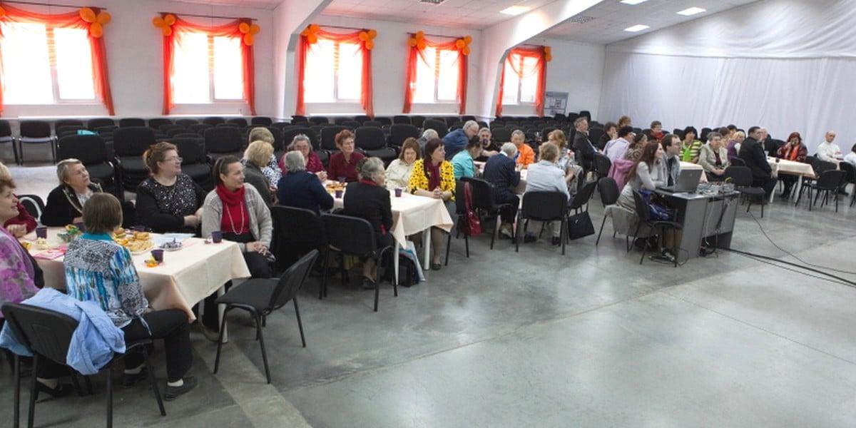 В новосибирской церкви состоялась встреча для старшего поколения
