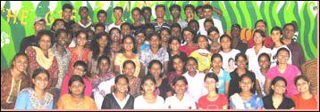 Христианский лагерь для подростков в Индии