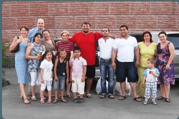 Крещение в Домодедово - история одной семьи