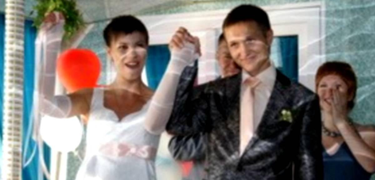 Венчание на теплоходе в Уфе: свадьба Станислава и Людмилы