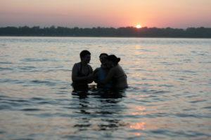 Крещение в Севастополе помогло маме примириться с Богом