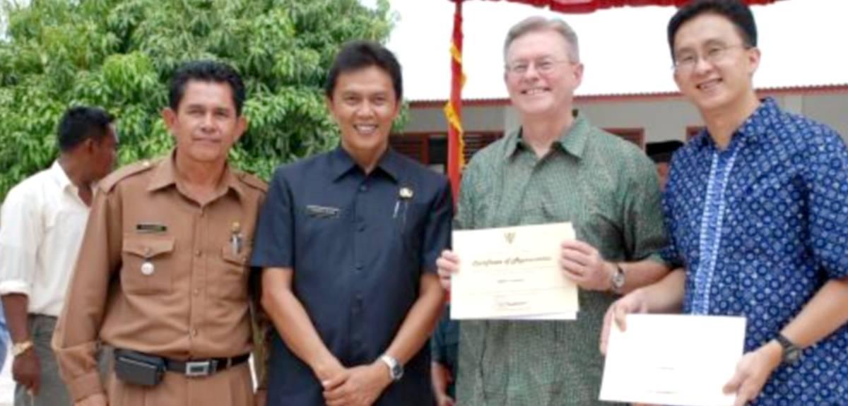 """БФ """"HOPE worldwide"""" устраняет последствия землетрясения в Индонезии"""
