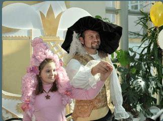 Благотворительный бал маленьких принцев и принцесс в Москве