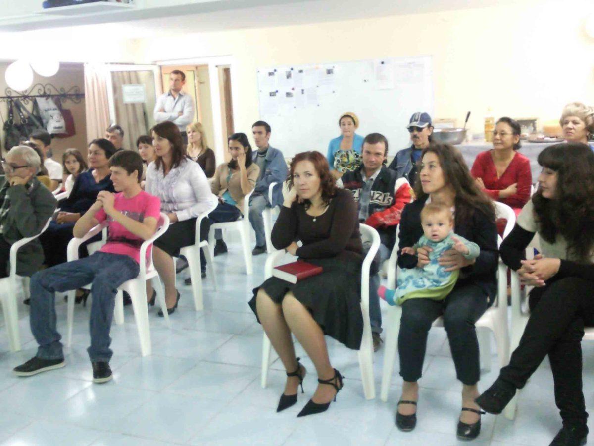 Ашгабатская христианская церковь отмечает свой юбилей