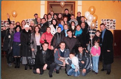 Как московские христиане церковь в Ярославле поздравляли