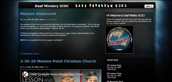 Проповедь глухим: история из церкви Христа в г. Винница
