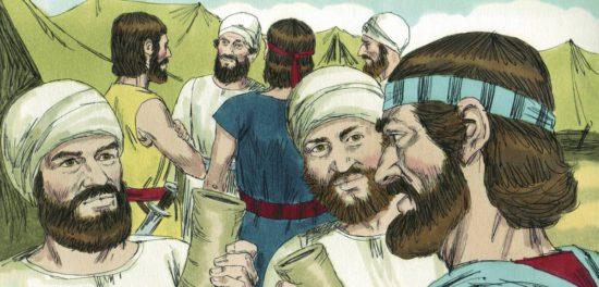 Иисус Навин и его роль в становлении Израиля. Герои Библии