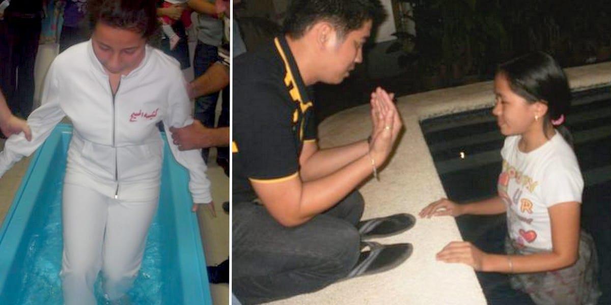 Христианские новости о крещении со всего мира