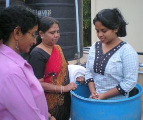 Крещение в Бангалоре, о котором долго молилась наша семья