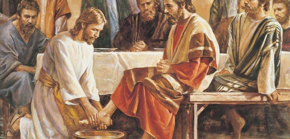 Омовение ног ученикам - зачем Иисус Христос это делал?