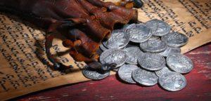 30 сребреников Иуды за предательство Иисуса и их судьба