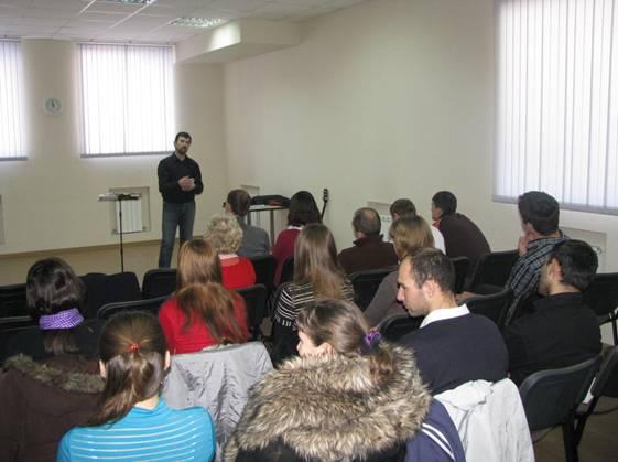 Начало новой церкви в городе Волжском