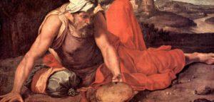 Библейский Иов - человек без греха согласно Писанию?