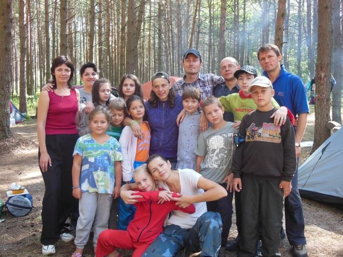 Подростки церкви в Минске: поход на Браславские озера