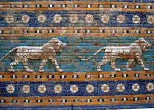 Навуходоносор, Древний Вавилон, Ворота Иштар и музей древностей в Германии