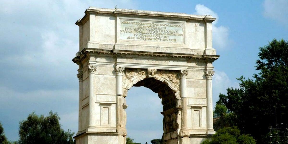 Триумфальная арка Тита: в память о разрушении Иерусалима