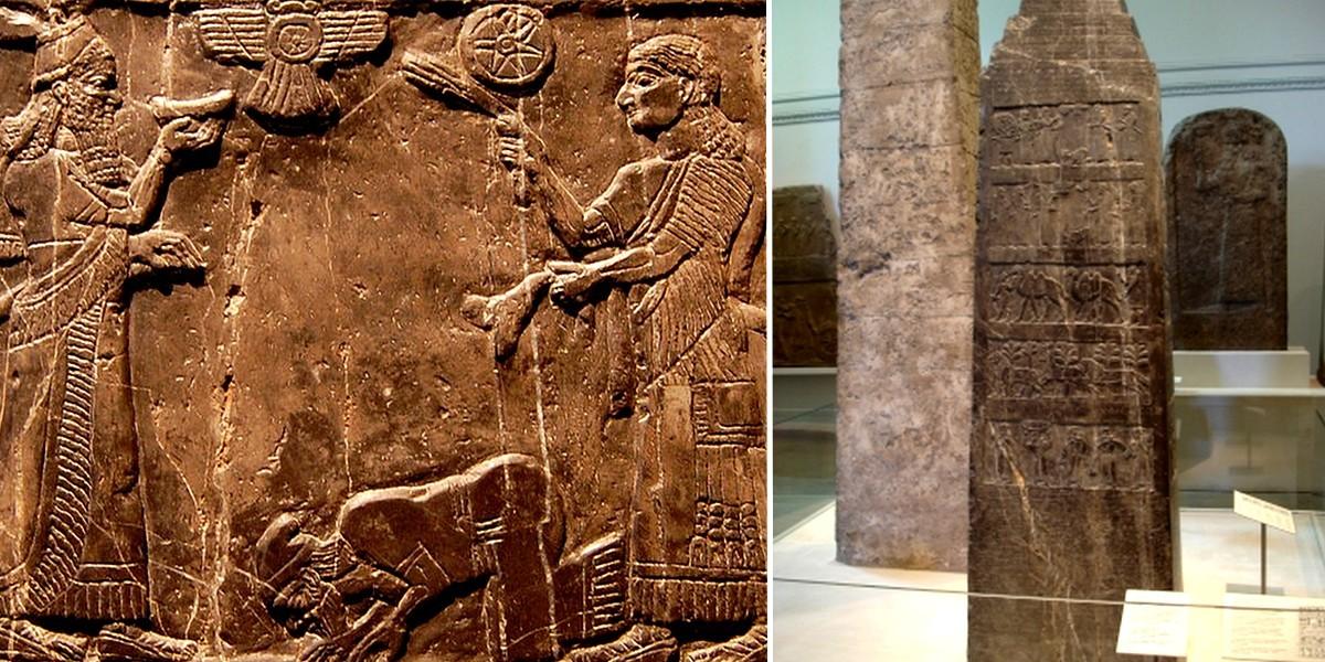 Чёрный обелиск - самое раннее изображение израильтян