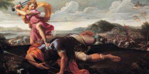 История Давида и Голиафа - если кратко, в чем мораль?