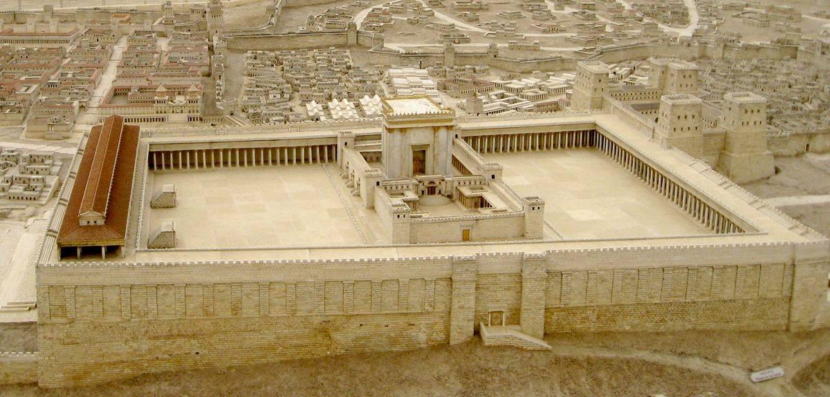 Краткая история иудейского храма в Библии