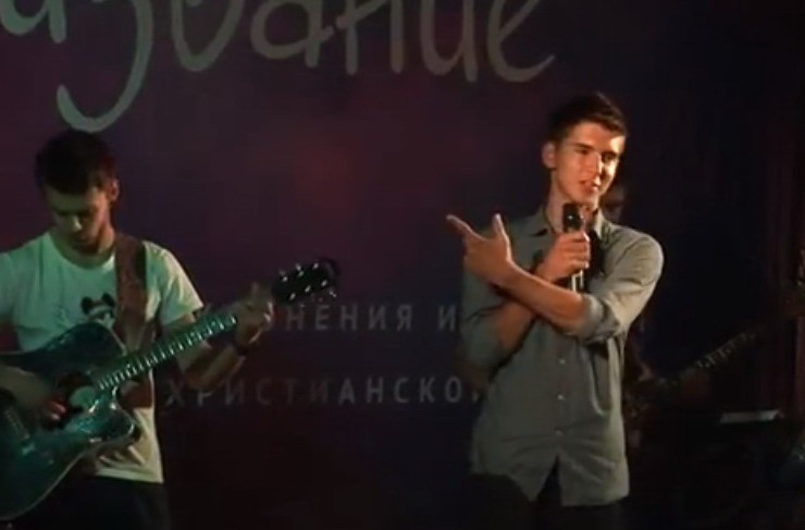 """Концерт христианской музыки """"Призвание III"""", Санкт-Петербург."""