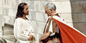 Диалог Иисуса и Понтия Пилата в Библии: детали личных встреч
