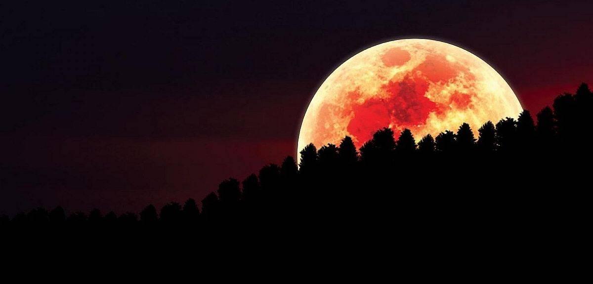 """Кровавая луна в Библии: """"луна станет красной, как кровь"""""""