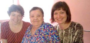 Крещение в доме престарелых в Уфе и слезы счастья на глазах