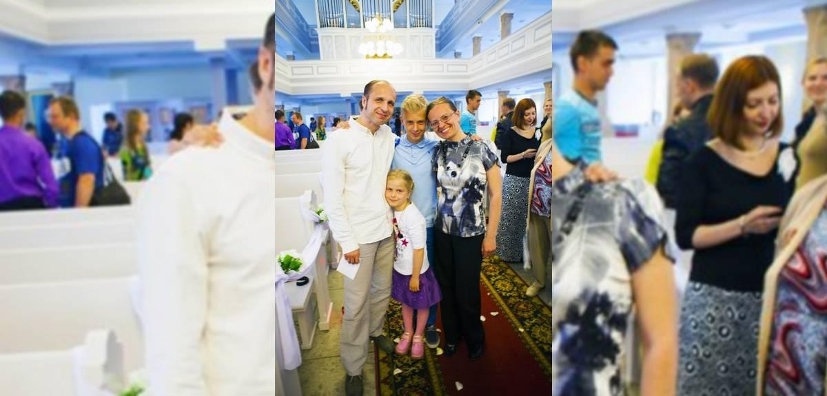 Крещение сына в Санкт-Петербурге - мы долго ждали этот день