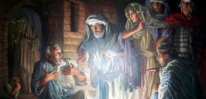 Когда Петр отрекся от Христа - на горе или на Тайной Вечере?