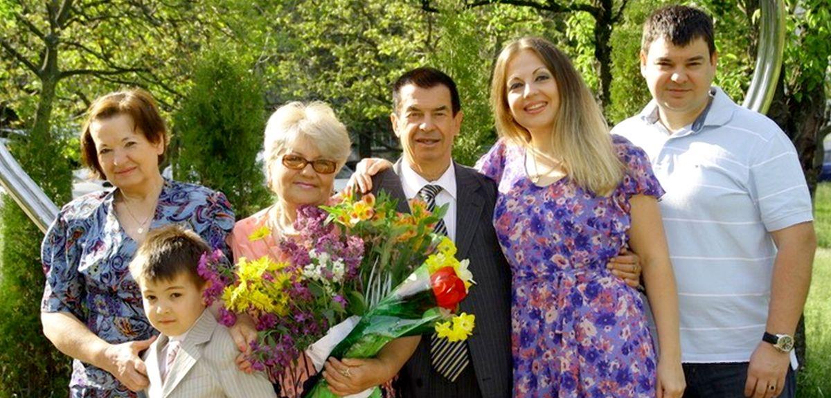 Киевская семья воссоединилась спустя 15 лет разлуки