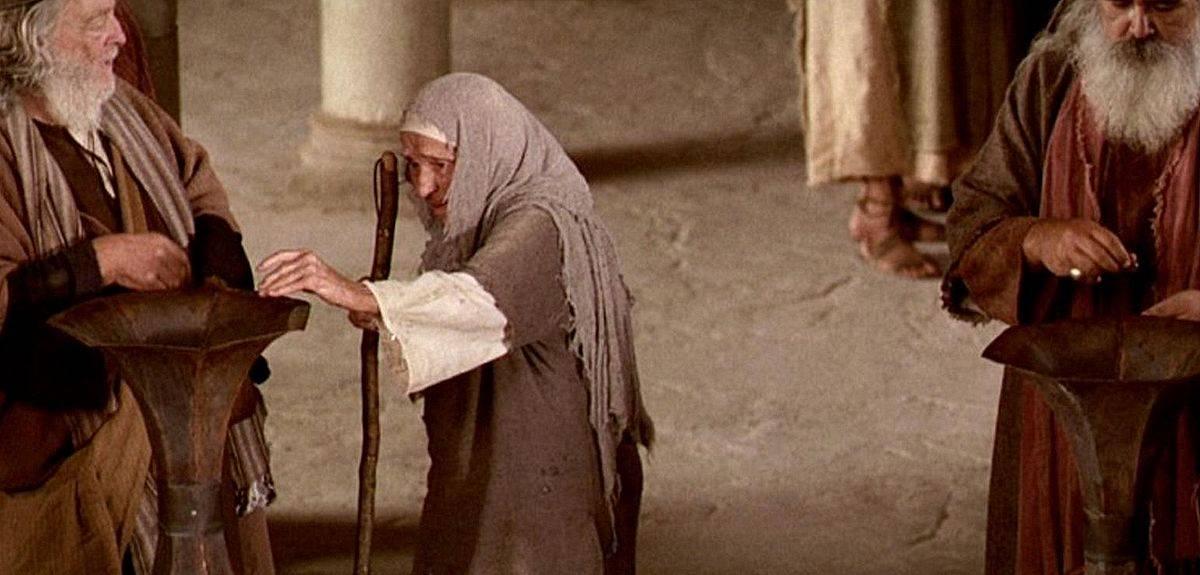 Две лепты бедной вдовы - хороший пример для христиан?