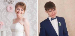 Свадьба в новосибирской церкви: венчание Ивана и Олеси