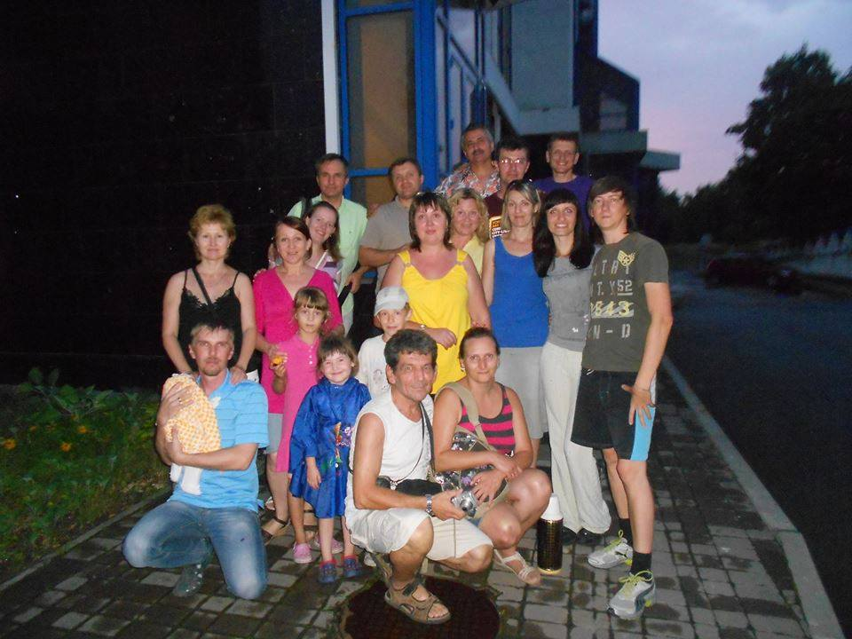 День рождения Донецкой Церкви Христа в рассеянии