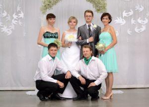Венчание в Новосибирске: свадьба Романа и Екатерины