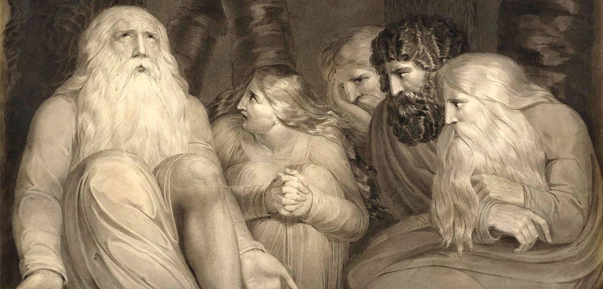 Страдание человека и пример библейского Иова