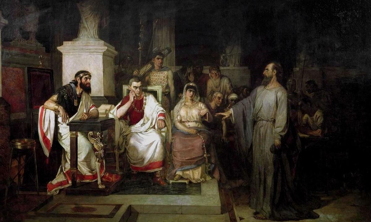 """Эссе """"Молчать, как Иисус или говорить, как Павел""""?"""