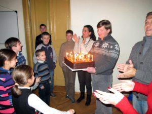 Церковь в Тбилиси отмечает день рождения
