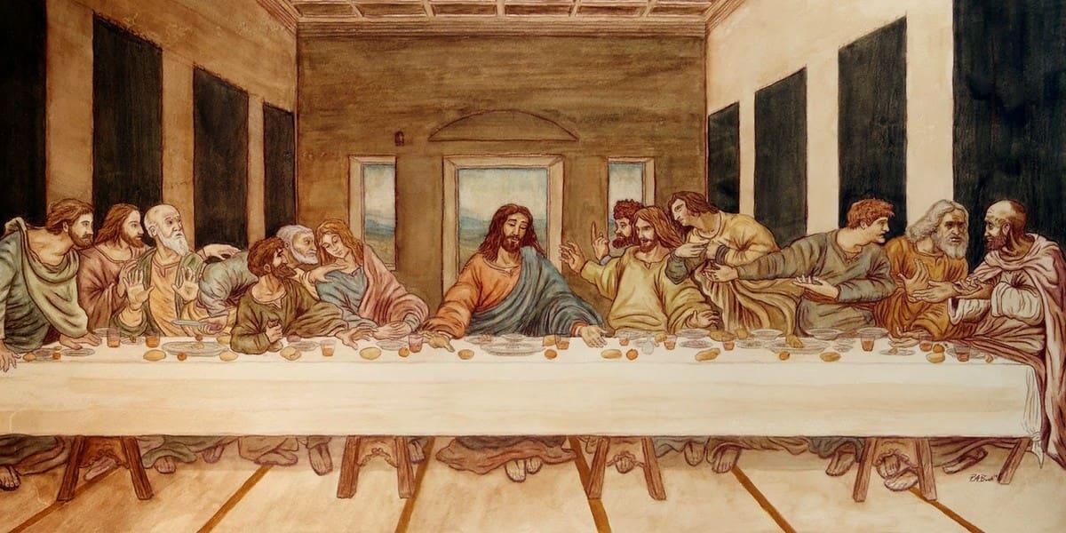 Есть ли ошибки в Библии - описание Тайной Вечери?