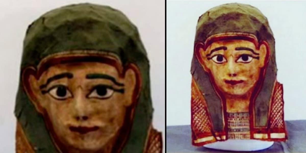 Египетская маска предоставила старейший манускрипт Нового Завета