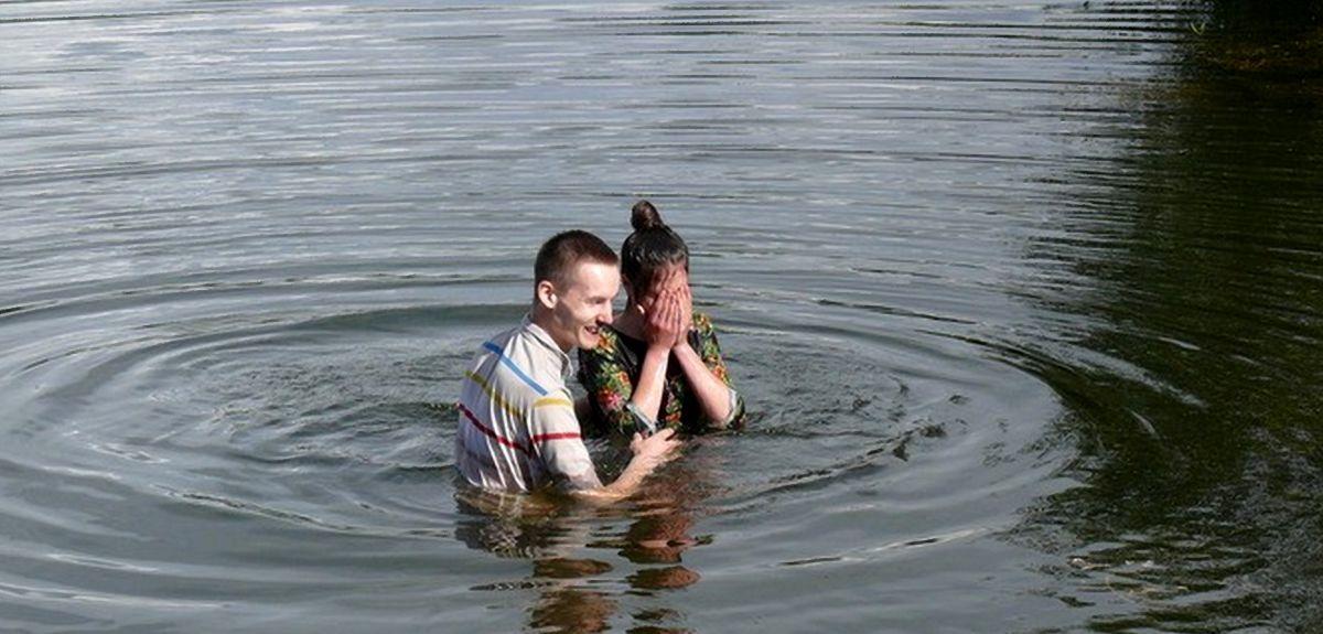 Понимание милости Бога. Крещение Сильвии