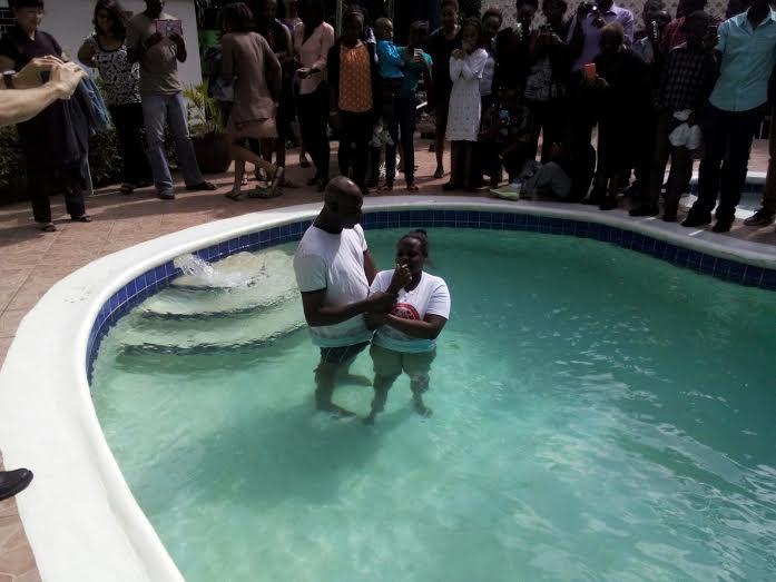 Крещение в Кингстоне - за дочь мы молились много лет